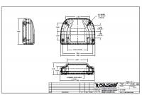 Plastic Enclosures Engineering Drawing