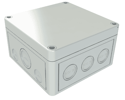 IP66 Waterproof Outdoor Enclosure Case Electrical Junction Box 2Way TerminaODFK