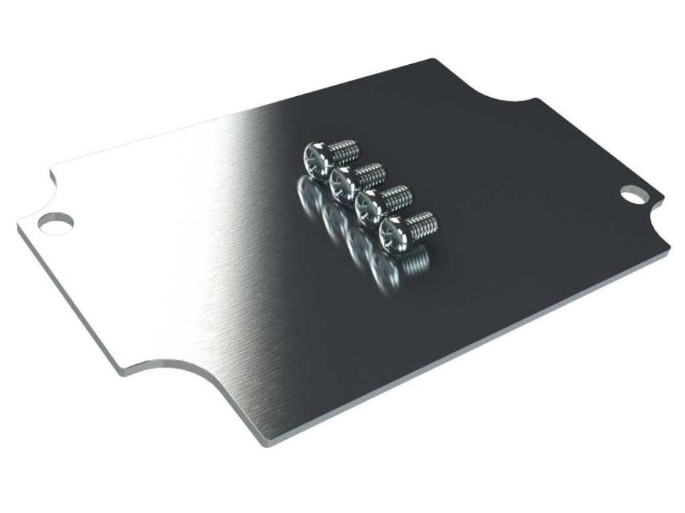 AN-12K internal aluminum mounting panel for AN Series enclosures