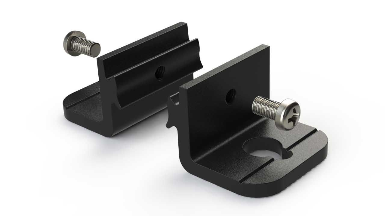 Mounting accessory for Polycase EX series enclosures