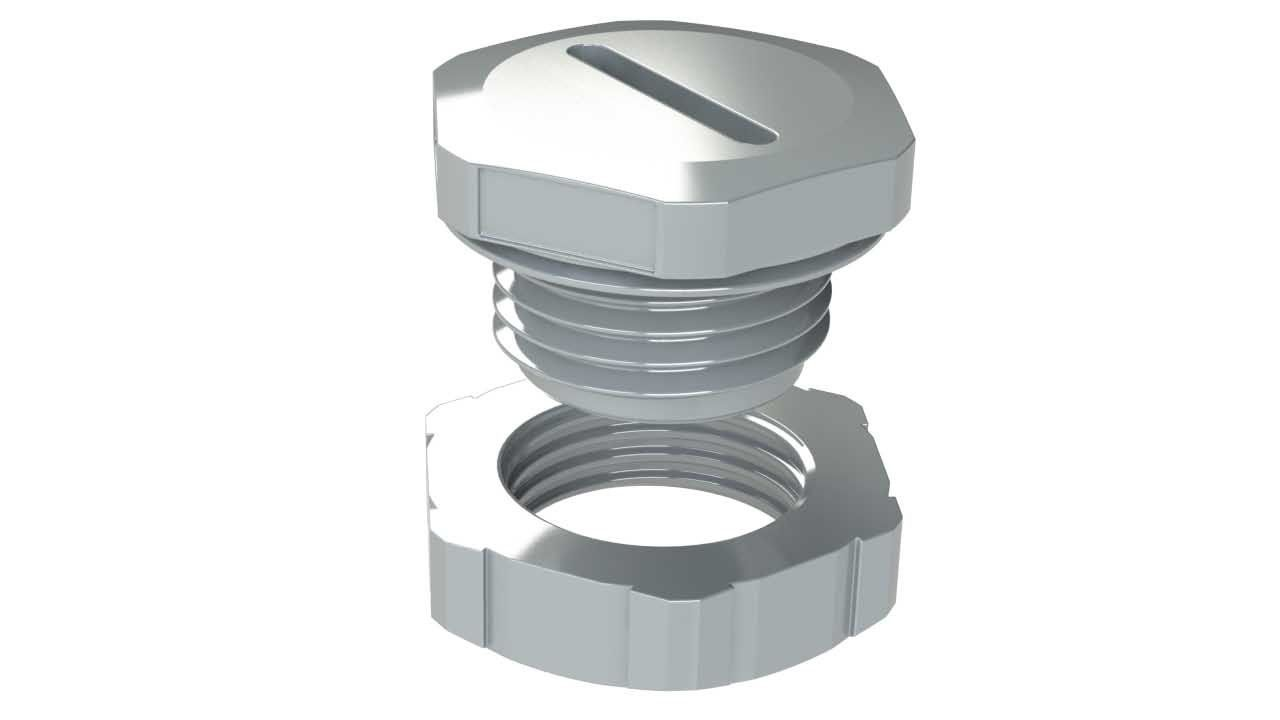 UL recognized hole plug for enclosures
