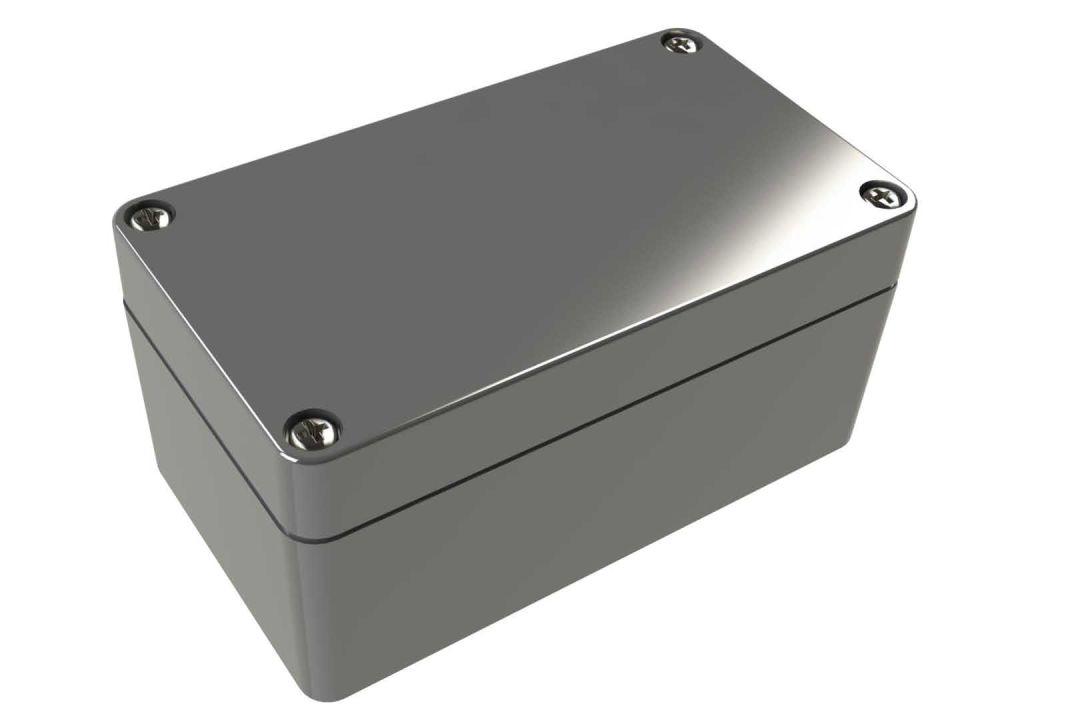 WA-22*16 Gray indoor NEMA 4x waterproof enclosure for electronics - 4.53 x 2.56 x 2.17 inches