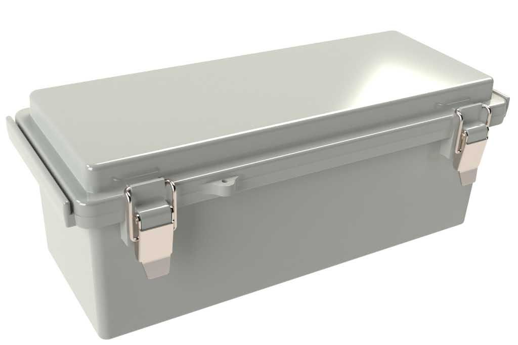Polycase WQ-42 outdoor hinged electrical enclosure