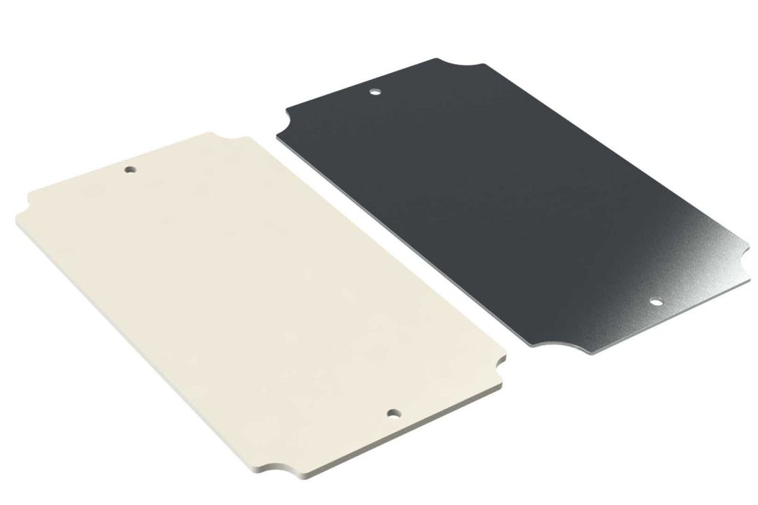 WQ-50P internal mounting panel for Polycase WH series enclosures
