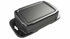 HD-35FMMT Black NEMA 6P rated waterproof polycarbonate enclosure for electronics - 5.5 x 3.5 x 1.5 inches