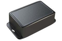 black polycarbonate case