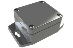 WA-20F*16 Gray indoor NEMA 4x waterproof enclosure for electronics with wall mount flange - 2.28 x 2.52 x 1.38 inches