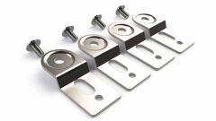 WQ-90 flange kit to wall mount Polycase WQ series enclosures