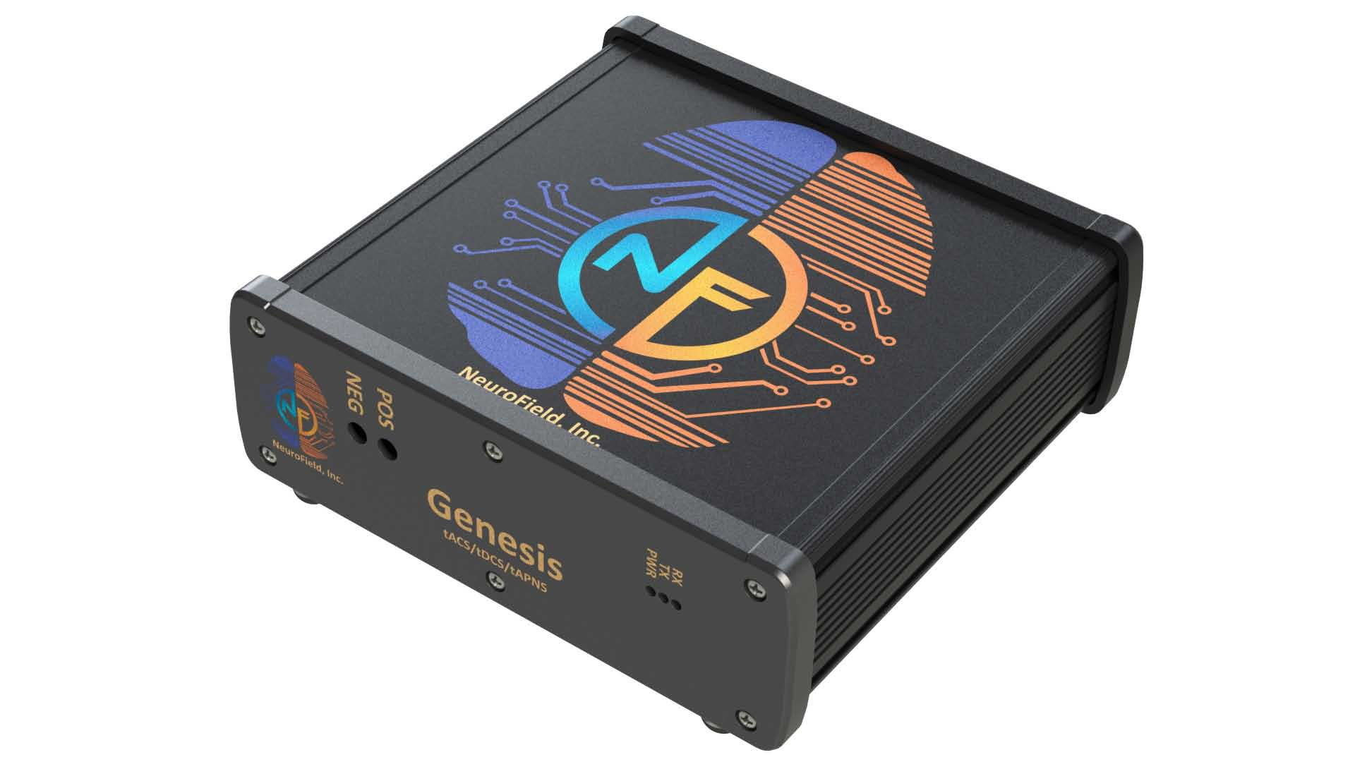 Extruded aluminum enclosure with vibrant digital printing graphics and machining