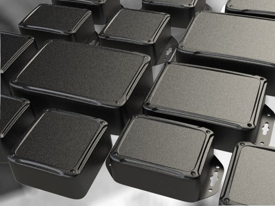 Plastic enclosures and metal boxes for electronics - enclosure sizes