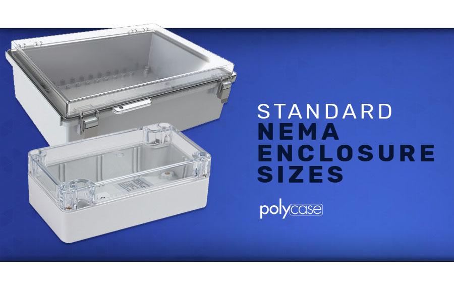 Standard NEMA Enclosure Sizes
