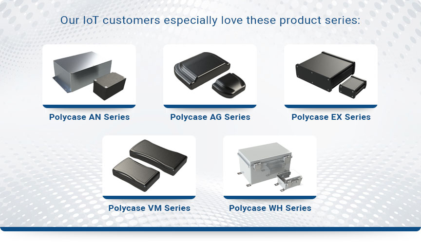 customers love polycase series graphic
