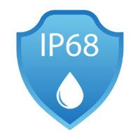 IP68 Waterproof Rating