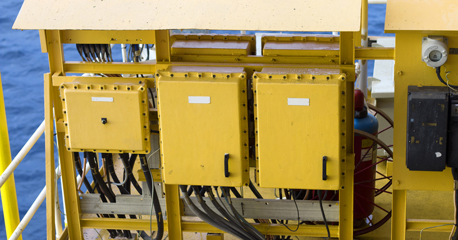 electrical panel offshore drilling