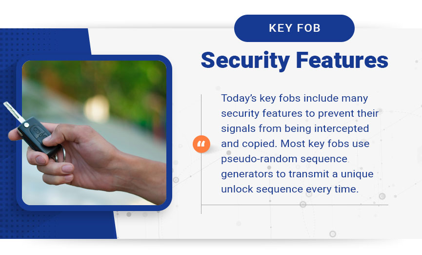 key fob security features graphic