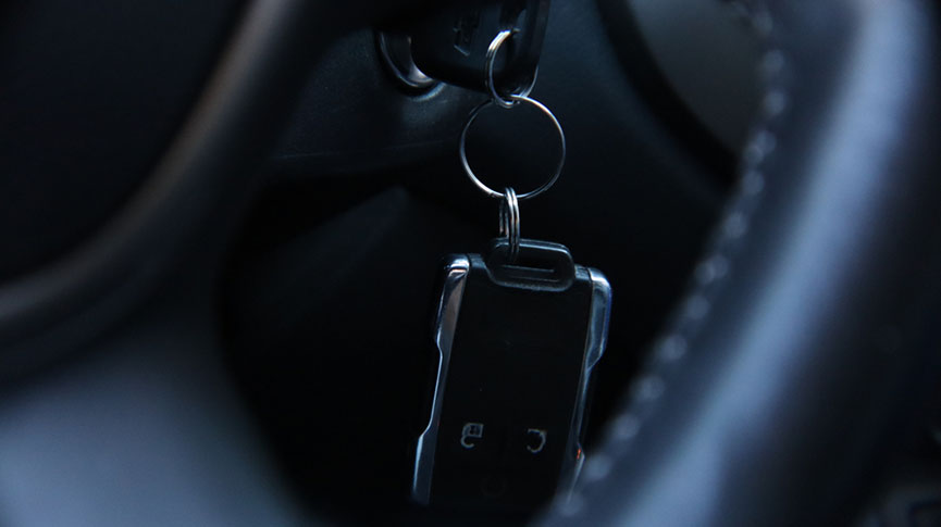 keys remote hang from ignition
