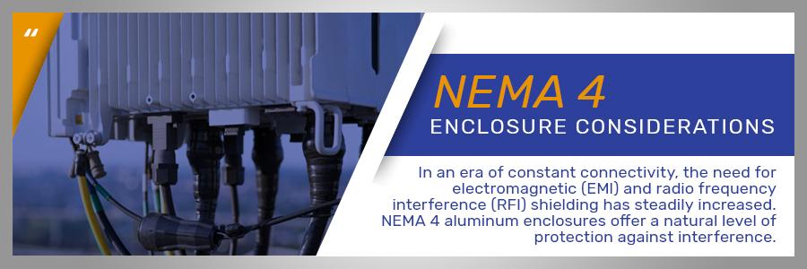 nema 4 enclosure consideration graphic